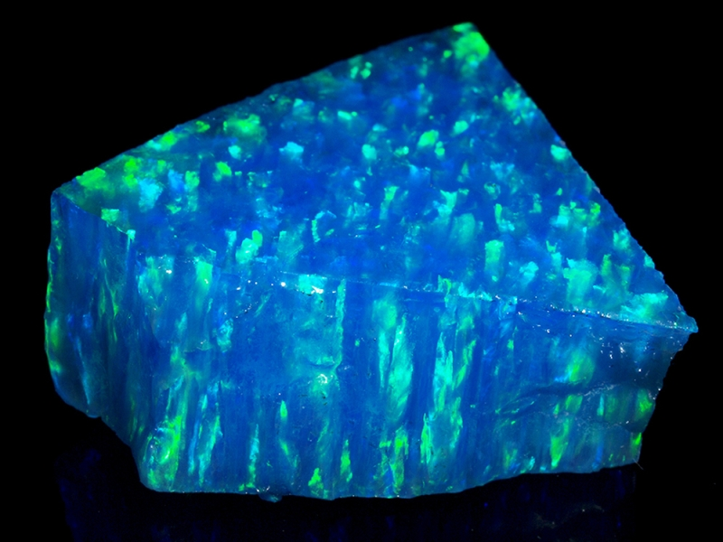 Synthetic Opal (Impregnated) - Pale Blue Opal