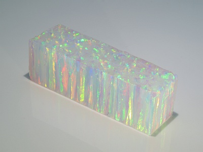 Synthetic Opal (Impregnated) - White Opal