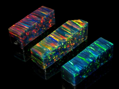 Synthetic Opals - Black Opals